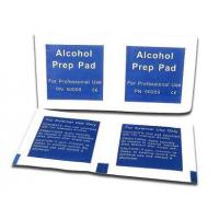 Buy cheap Medical Disinfecting Inection 70% isopropyl Alcohol Prep Pad from Wholesalers