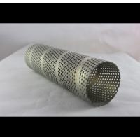 Buy cheap Welded Anodized Spiral Perforated Tube For Food Service , Waste Management from wholesalers