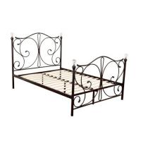 Buy cheap Sturdy Queen Size Metal Platform Bed Frame Eco Friendly Finish Easy Clean from wholesalers