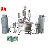 Buy cheap Under Cap Freon Refrigerant Filling Machine 316 Stainless Steel Material from wholesalers