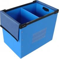 Buy cheap Clothes / Books Coroplast Corrugated Plastic Boxes For Moving / Packing / Storage from wholesalers