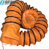 Buy cheap flexible air ducts,100mm-1500mm,main color is oranged from wholesalers