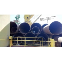 Buy cheap SSAW water pipeline/Spiral weld steel pipeline/straight seam welded pipe/carbon steel welded pipe/schedule 80 steel tube from wholesalers
