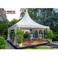 Buy cheap Large Clear Art Festival Tents , 200 People Enclosed Event Tent Fireproof from wholesalers