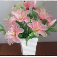 Buy cheap Silk sola flower from wholesalers