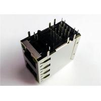 Buy cheap 6368011-2 , 6368011-3 Dual Port 2X1 Stacked Rj45 Female Jack 8 POSITION from wholesalers