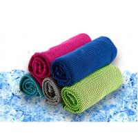 Buy cheap Absorbing sweat keep Cool 100% polyester cool  fabric cooling towel for sporter worker product