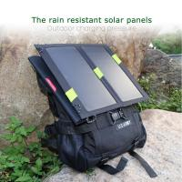 Buy cheap 13W Solar Panel For Mobile Charger Foldable , Waterproof Solar Charger from wholesalers
