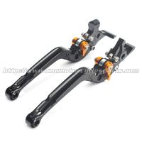 Buy cheap Adjustable Long Folding Brake Clutch Levers , Brake And Clutch Levers For Motorcycles from wholesalers