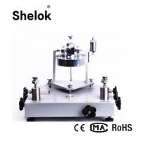 Buy cheap Vacuum -0.005~-0.1 MPa  oil 1/4NPT Pressure Tester dead weight tester product