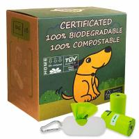 Buy cheap Custom Printed Paper - Isolated Biodegradable Plastic Bags For Dog Poop from wholesalers