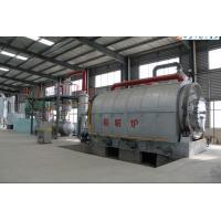 Buy cheap China Manufacturer Waste Plastic/Rubber/Tyre To Fuel Oil Pyrolysis Plant 10T 20T 30T from wholesalers
