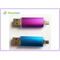 Buy cheap OEM Mobile Phone USB Flash Drive , Micro Dual Port USB Flash Drive OTG from wholesalers