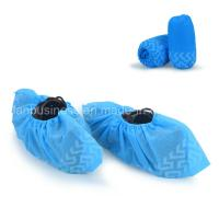 Buy cheap Anti-Slip Disposable Blue Shoe Cover from wholesalers