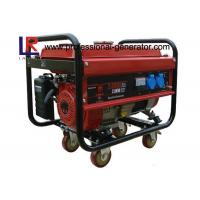 Buy cheap Home Use 2.8 kw High Efficiency Gasoline Generators with Single Phase , Kick and Electric Start from wholesalers