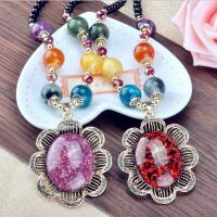 Buy cheap Korea's new crystal pendant necklace female long chain fashion accessories decorative Neck from wholesalers