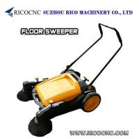 Buy cheap Commercial Manual Floor Sweepers Push Mechanical Clearner for Wood Workshop from wholesalers