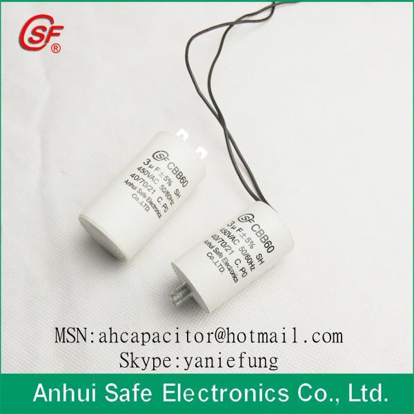 Buy cheap Water Pump Plastic Capacitor CBB60 from wholesalers