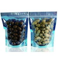 Buy cheap custom printed stand up zippe foil peanut pouch , food bag sealer from wholesalers