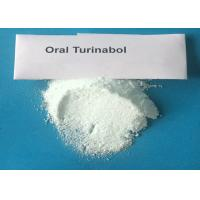 Buy cheap Muscle Growth Testosterone Anabolic Steroid Oral Turinabol Powder 4 Chlorodehydromethyltestosterone from wholesalers
