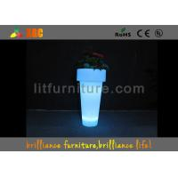 Buy cheap Decorations Light Up Outdoor Plant Pots Waterproof With 4400 MAH Rechargeable Battery from wholesalers