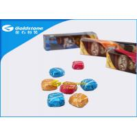 Buy cheap Colorful Printing Personalized Chocolate Foil Wrappers Coloured Foil For Wrapping Chocolates from wholesalers
