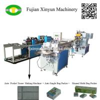 Buy cheap High speed automatic handkerchief tissue paper machine production line from wholesalers