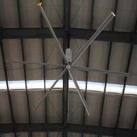 Buy cheap Malaysia 20foot HVLS large industrial ceiling fan Big ass Air Cooling Factory 380V from wholesalers