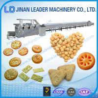 Buy cheap Industrial  stainless steel soft hard cookie biscuit production line from wholesalers