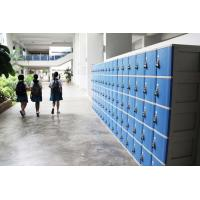 Buy cheap ABS Material Keyless Plastic School Lockers 4 Comparts 1 Column Safety / Ventilation from wholesalers