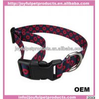 Buy cheap 2018 new design 1 width nylon webbing dog collar &lead set assorted colors and sizes from wholesalers