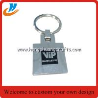 Buy cheap VIP keychain custom for you customer, leather metal car key chains with custom design from wholesalers