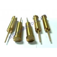 Buy cheap BeCu Copper Core Pin Injection Molding Components With Hole Thread from wholesalers