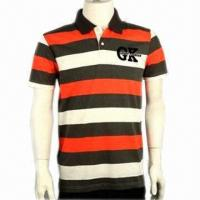 Buy cheap Promotional Polo Shirt, Customized Logos and Small Quantity Orders are Welcome  product