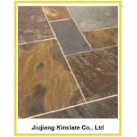 Buy cheap Natural California Gold Slate Exterior Floor Tile from wholesalers