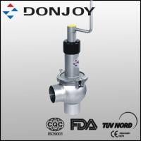 Buy cheap 1 Inch SS 316L Sanitary Manual Regulating Single  Seat Valve with Welding Ends from wholesalers