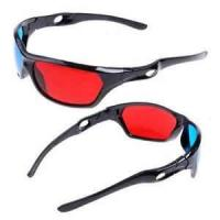 Buy cheap universal Black Frame Anaglyphic Red Cyan prescription safety 3D glasses, chroma depth glasses for children from wholesalers