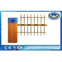 Buy cheap Car Parking Vehicle Barrier Gate 6 second With Three  Fence Boom Length 6M from wholesalers
