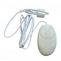 Buy cheap Small medical hospital silicone rubber optical mouse with IP68 fully sealed for nurse use from wholesalers
