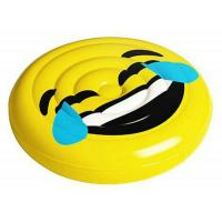 Buy cheap Giant Facial Expression Emoji Island Laugh Cry Inflatable Swimming Pool Float Raft from wholesalers