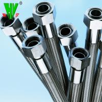 Buy cheap Shower hose high pressure 304 stainless steel hydraulic hose fittings PTFE tube from wholesalers