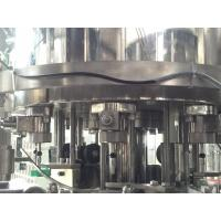 Buy cheap Automatic Carbonated Soda Water Filling Machine Programmable Control Center from wholesalers