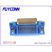 Buy cheap PCB Right Angel 24 Pin Female Centronics Connector , PCB Mounting Connector from wholesalers