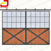 Buy cheap Bamboo wood painted equestrian Economy large horse Stable Fronts from wholesalers