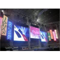 Buy cheap Super Slim Stage LED Advertising Screen Display P3.91 Indoor HD LED Video Wall Programmable Digital Billboards for Sale from wholesalers