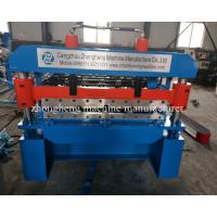 Buy cheap Zinc Roofing Tile Roofing Sheet Roll Forming Machine 0.3-0.6mm Thickness from wholesalers