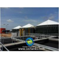 Buy cheap 20 m³ Capacity GFS Tank Wastewater Treatment Plants WWTP For Industrial And Municipal Project from wholesalers