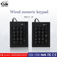 Buy cheap mini laptop computer wired numeric keypad usb for accounting from wholesalers