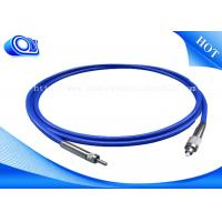 Buy cheap 0.9 / 2.0 / 3.0mm Fiber Optic Patch Cord ST SC FC LC MTRJ E2000 MU SMA DIN Connector from wholesalers