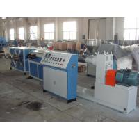 Buy cheap HDPE Single Wall Corrugated Pipe Machine from wholesalers